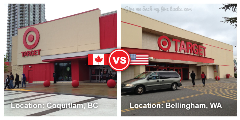 Target Canada Or Target Usa Which Is Cheaper Give Me
