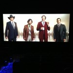 Anchorman 2 preview at the theatre!