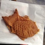 red bean waffle fish