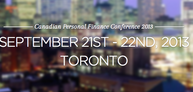 2013 Canadian Personal Finance Conference!
