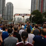 Start of the Vancouver Eastside 10km