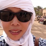 All ready for my camel ride!