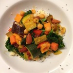 Homemade vegetable curry
