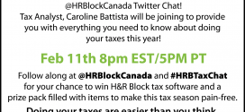Feb 11th: H&R Block Canada Twitter Party!