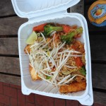 Our last food cart meal