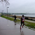 Elite runner at BMO Half Marathon