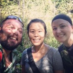 Hiking to Whyte Lake w/Jaime & Cait