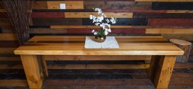 CONTEST: Win a custom reclaimed wood Slab Table from Barn and Forest!